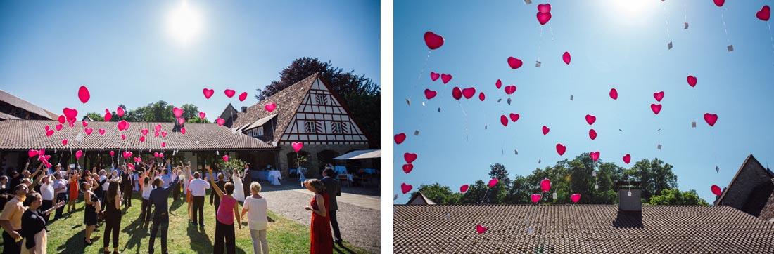 luftballos vor schloss heinsheim