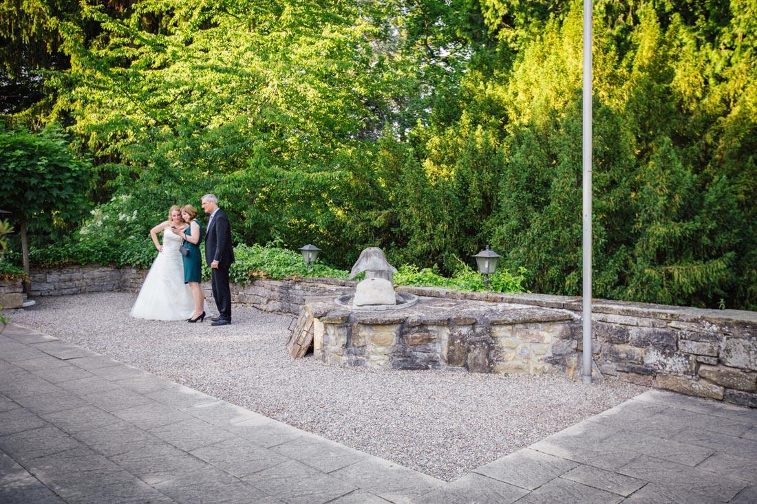 Gäste un die Braut