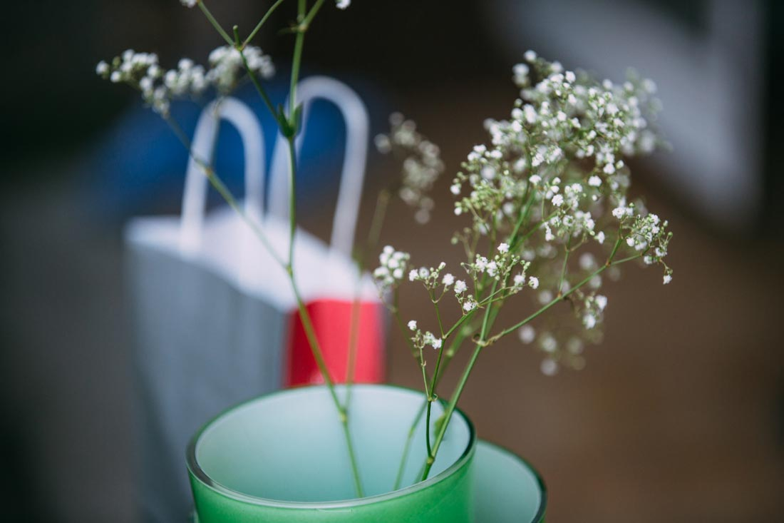 Blumen in der Wase