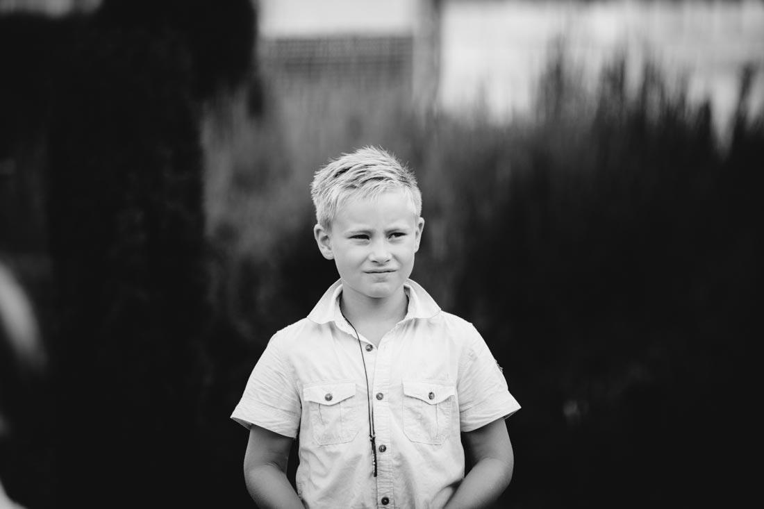 hochzeitsreportage portrait junge sw