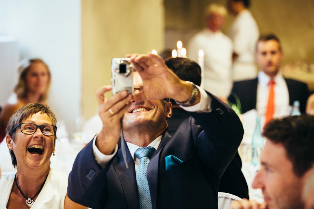 fotograf wird fotografiert