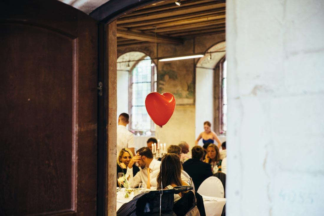 Luftballon im Saal