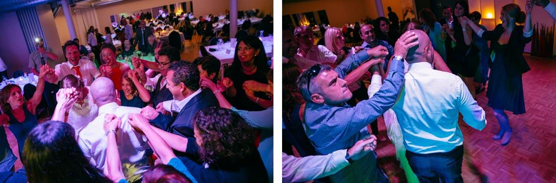 hochzeitsreportage Gäste party