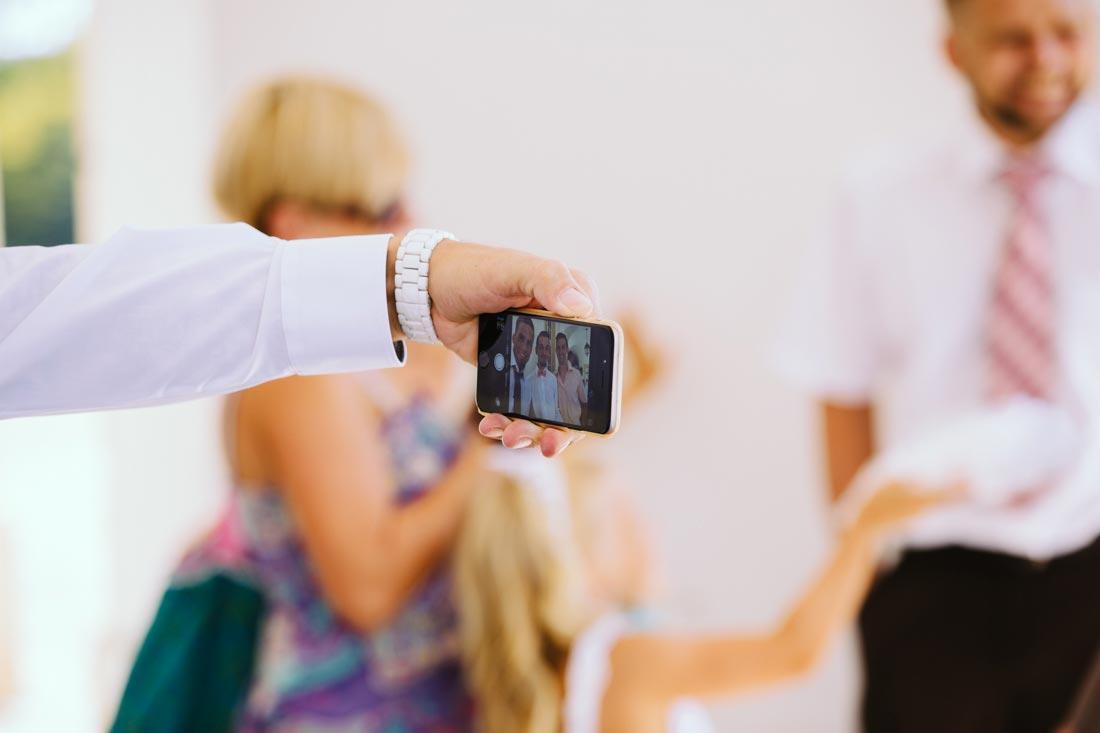 reportage selfie Hochzeit solitude