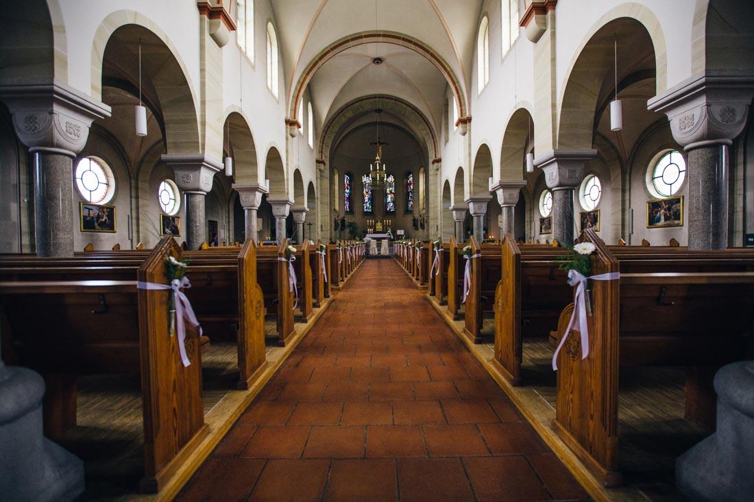 salach kirche innenaufnahme