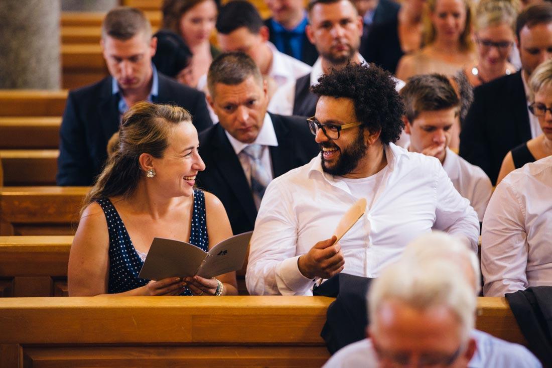 Hitze in der Kirche