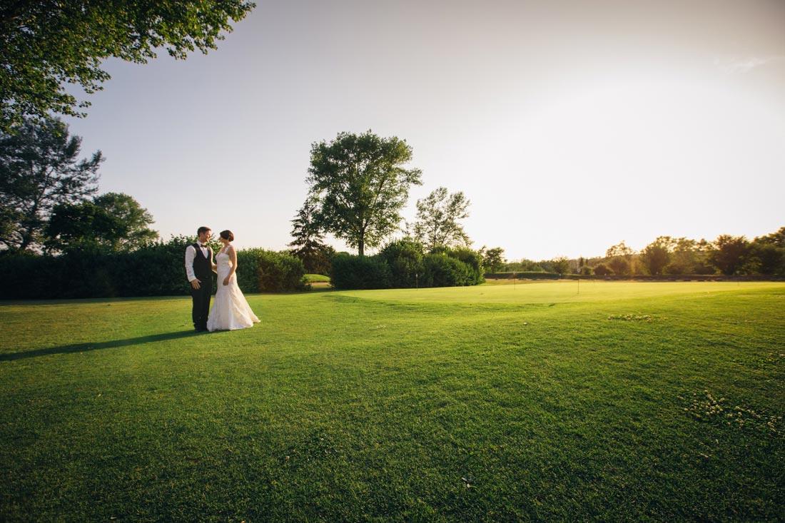 golfplatz göppingen Hochzeitspaar