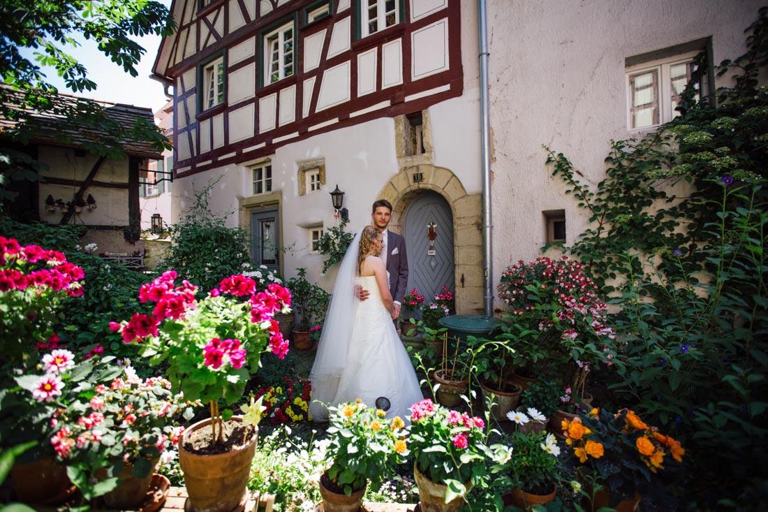 Paarbilder Hochzeit Bad Impfen Blumen