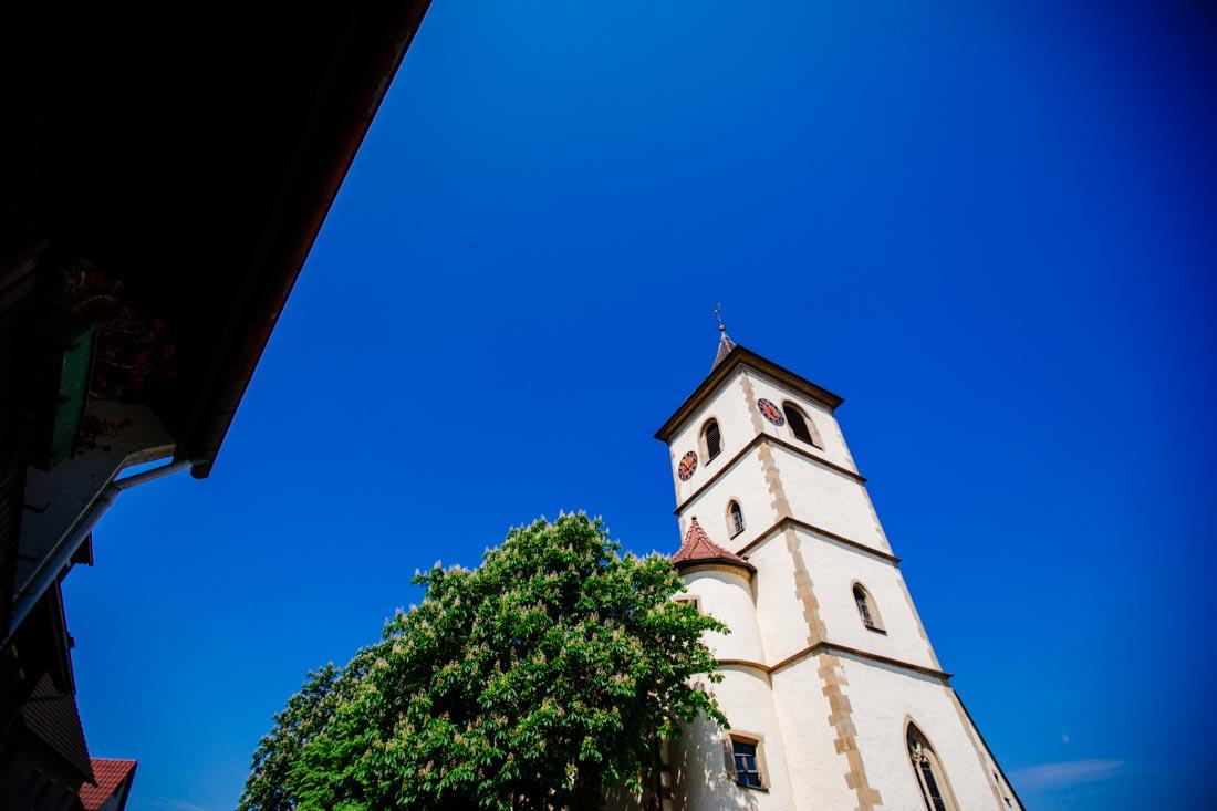 kirche in unterriexingen