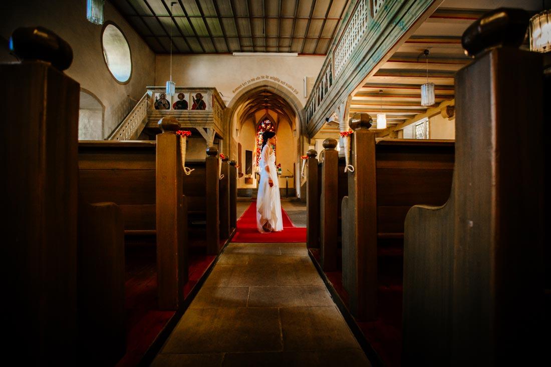 Hochzeit in der Kirche Unterriexingen