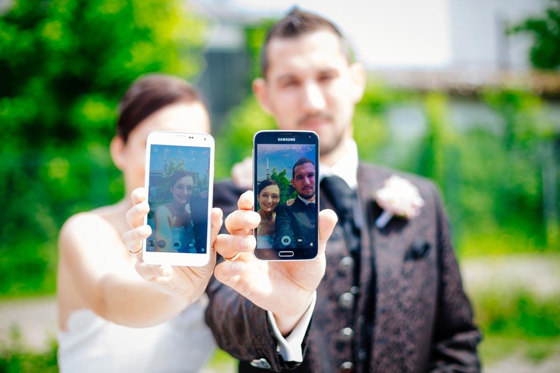 smartphone paarselfie