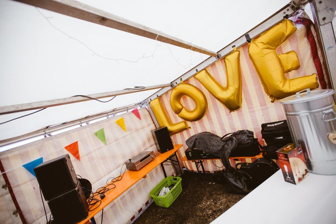 Love Luftballons Hochzeit