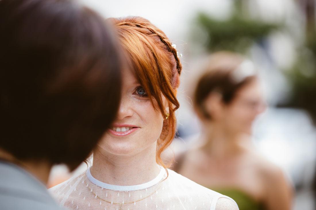 Hochzeitsfoto Braut in Freudental