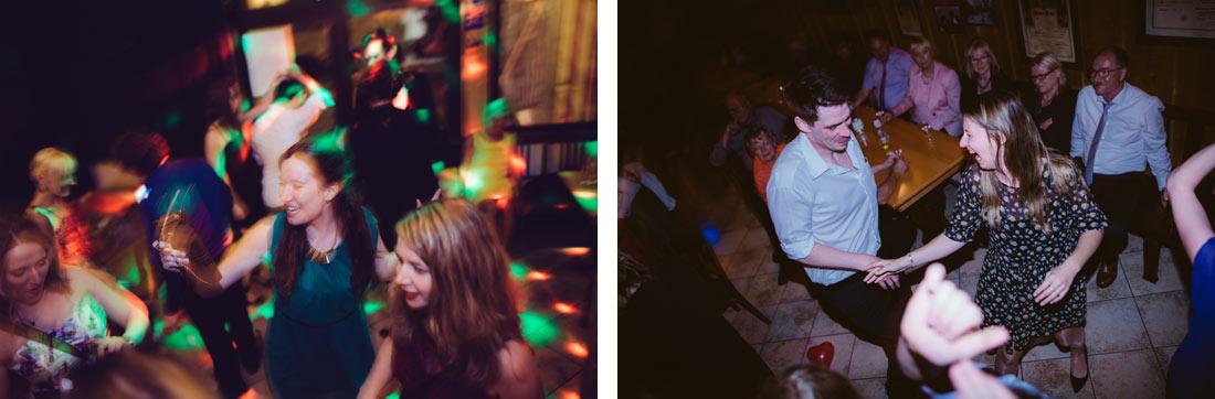 ausgelassenes Tanzen
