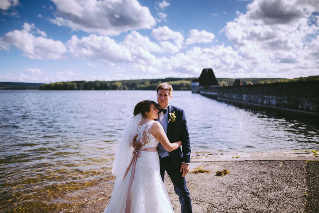 Hochzeitsfoto am Möhnesee