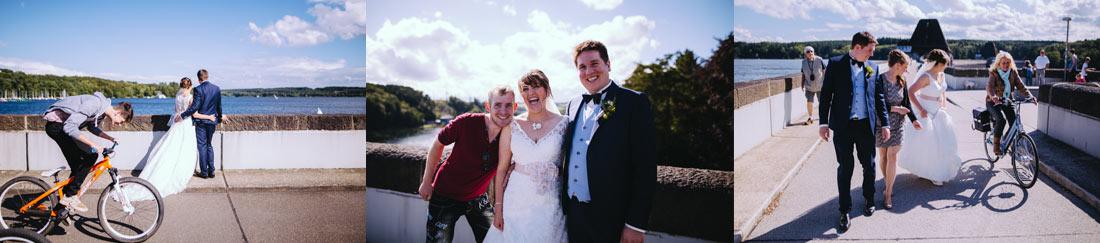 Hochzeit Photobomb
