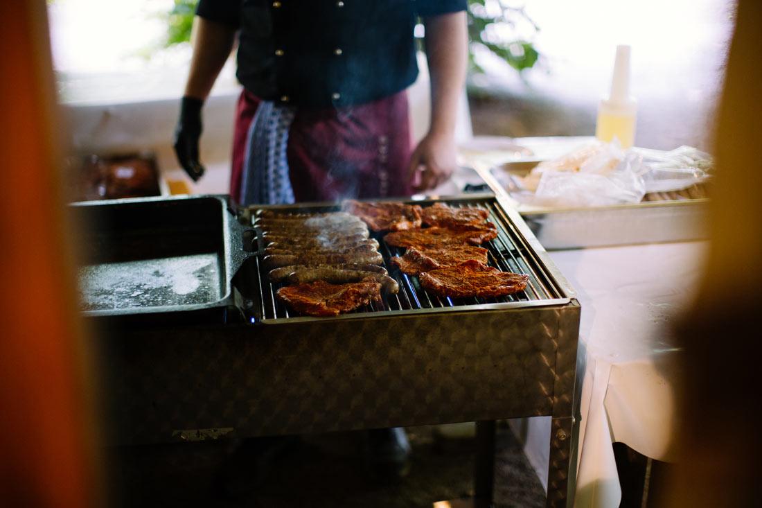 Grillbuffet auf der Hochzeit