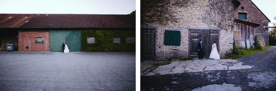 Paarbilder auf einem Bauernhof