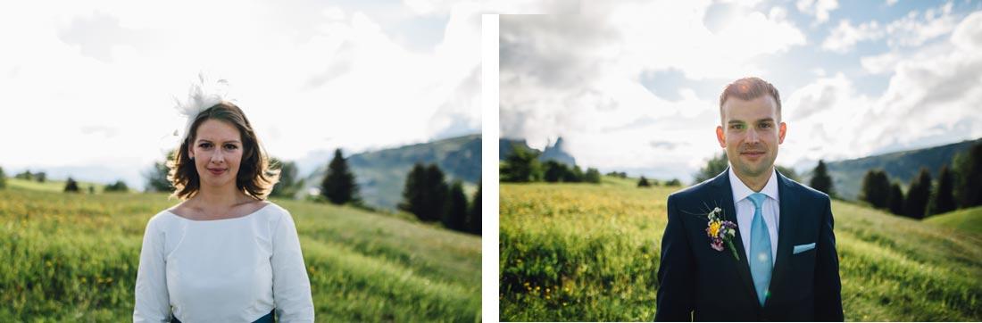 Portraits in den Bergen
