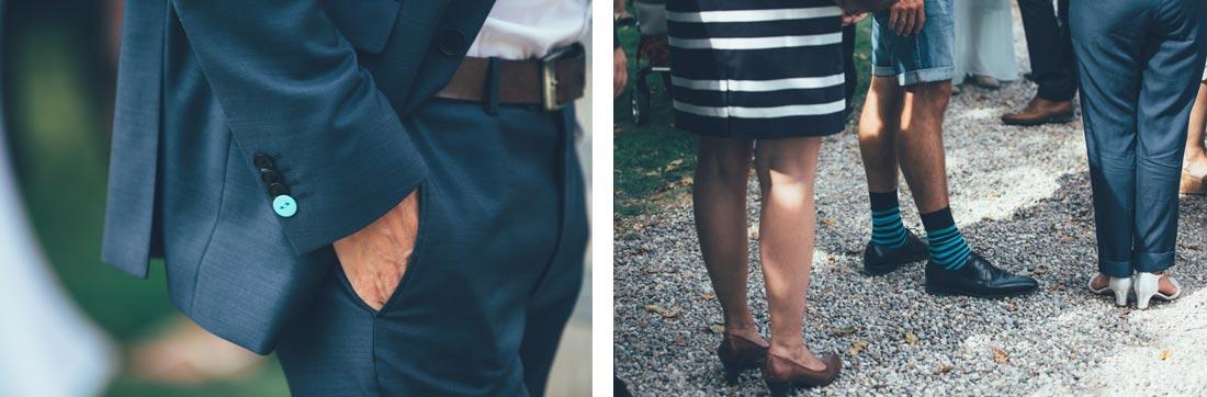 Anzug und Schuhe