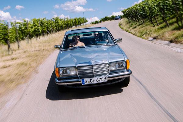 Mercedes-Benz Coupe Hochzeitsauto