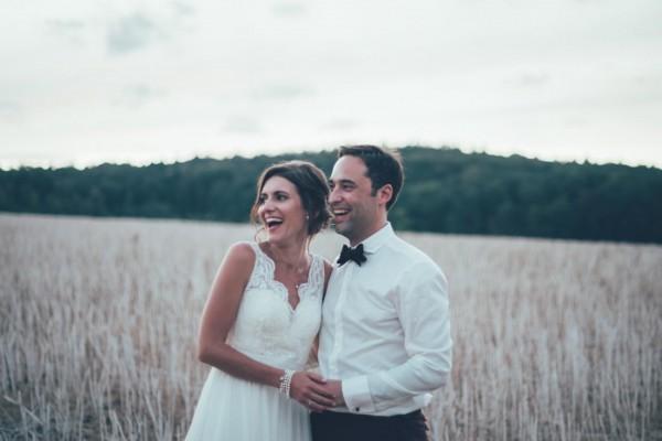Hochzeitsfotos abends am Steinbachhof