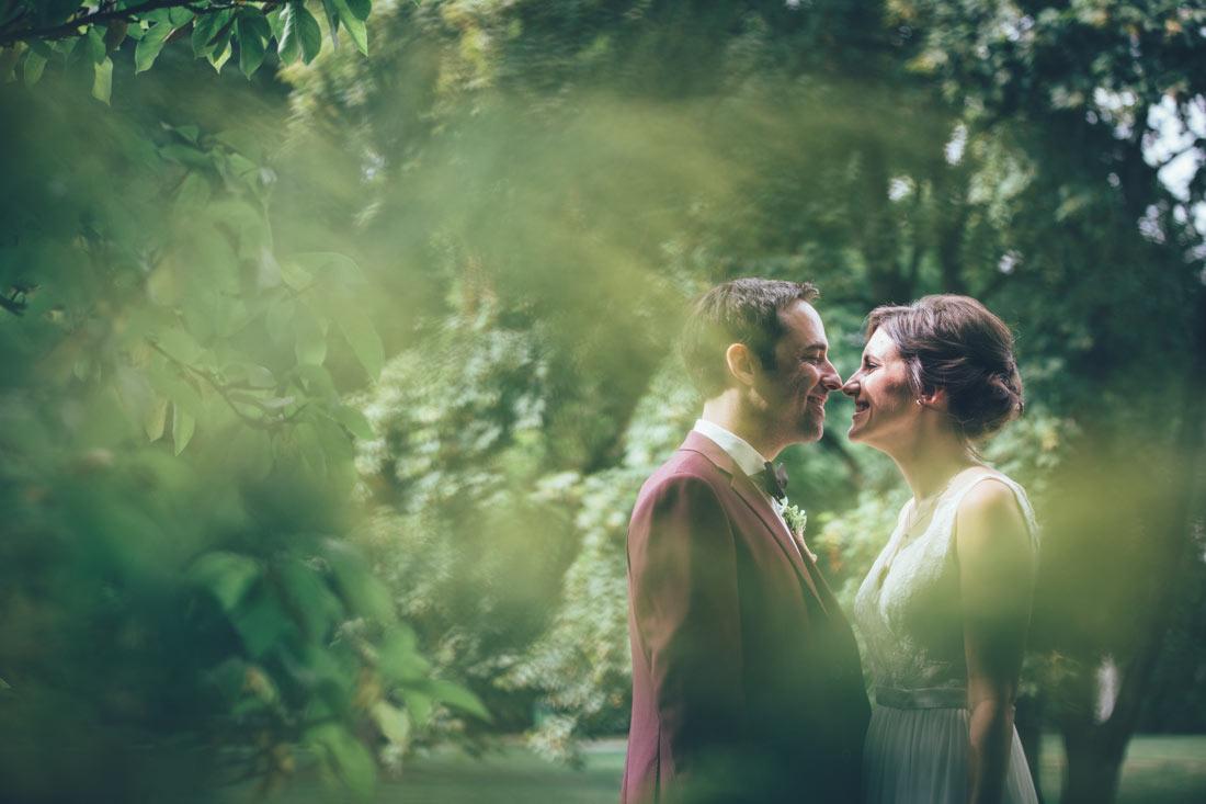 Paarshooting Hochzeit im Grünen