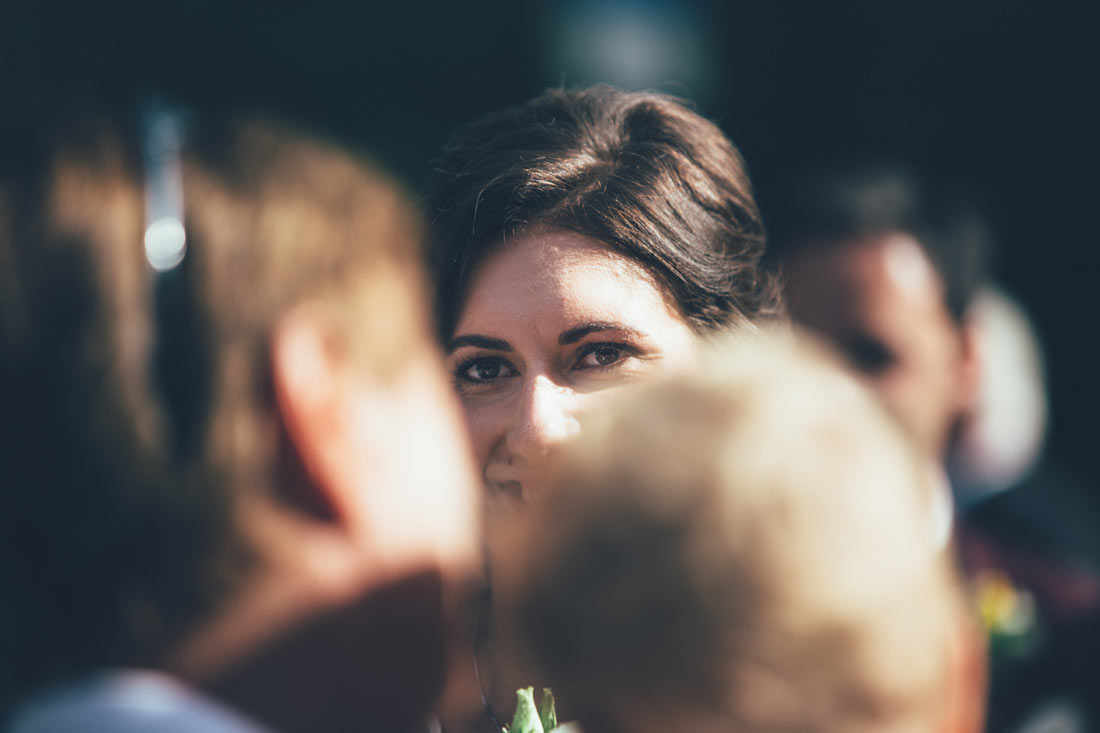 Blick der Braut