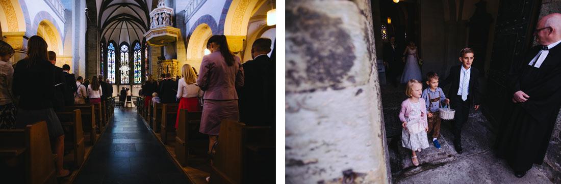 Ende der kirchlichen Trauung