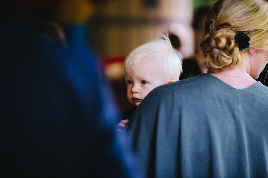 Kind auf dem Arm