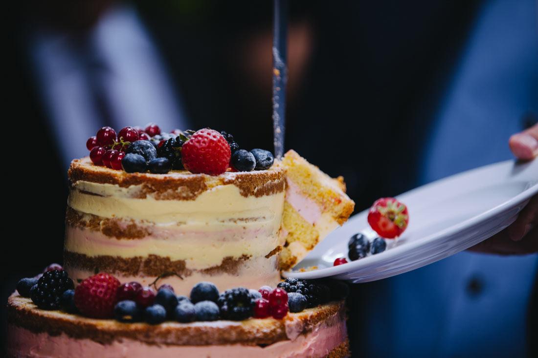 Ein Stück aus der Torte