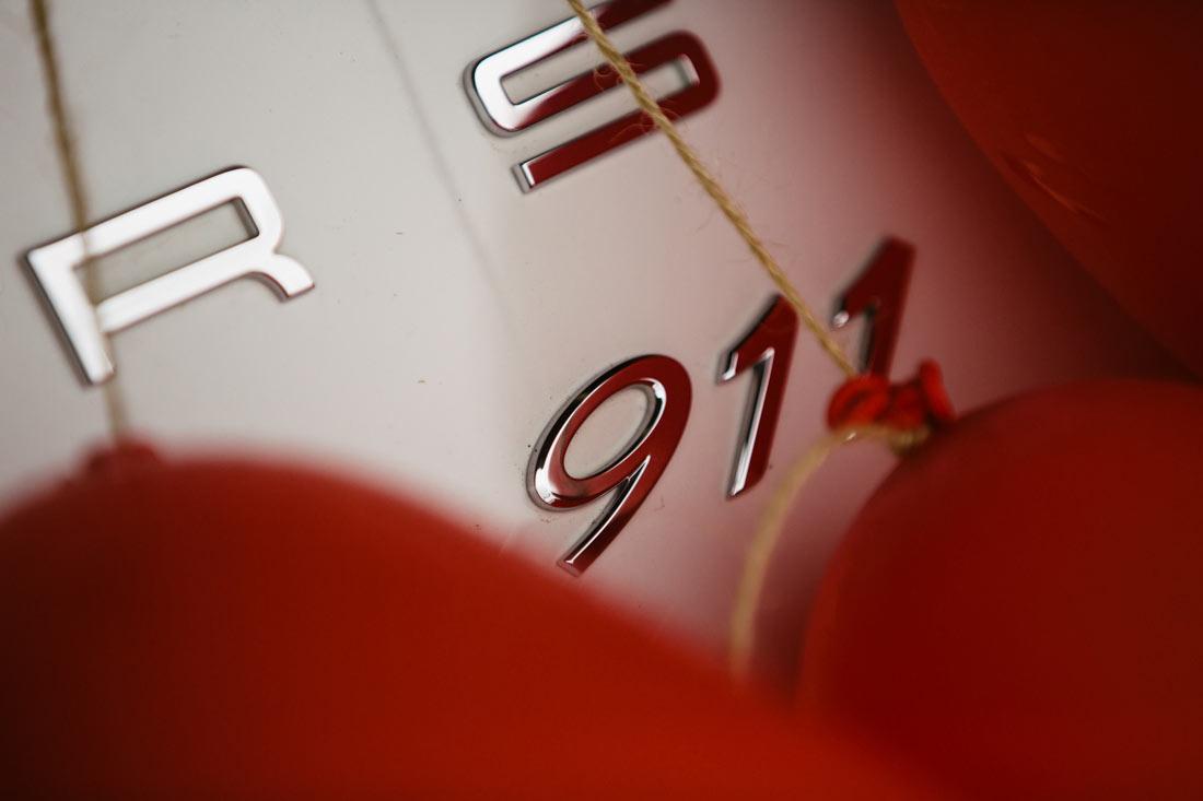 Porsche 911 als Hochzeitsauto