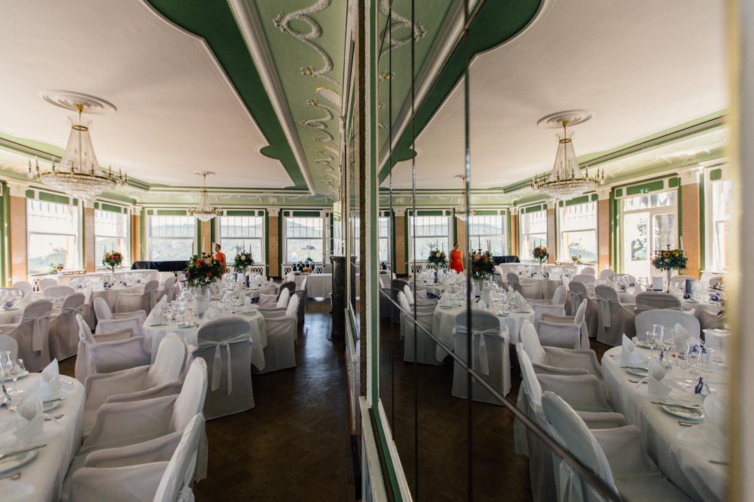 Saal für die Hochzeit Hotel Molkenkur