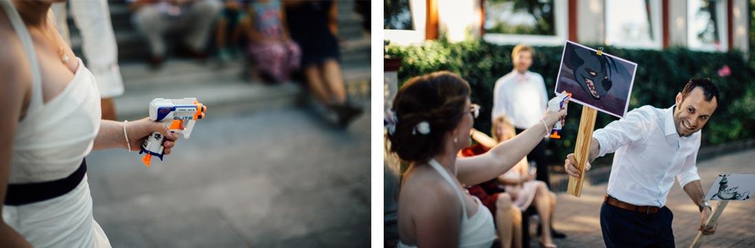 Lustiges Hochzeitsspiel