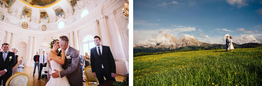 Wedding at the alps