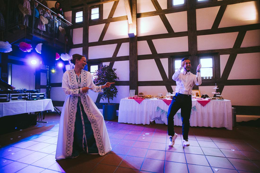 Verrückter Hochzeitstanz