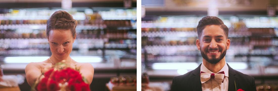 Portraits im Supermarkt