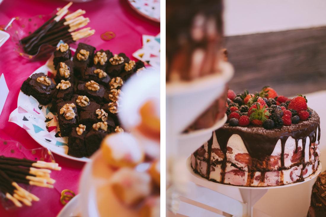 Brownies und Hochzeitstote