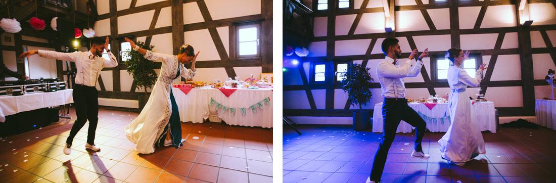 Coole Moves beim Hochzeitstanz
