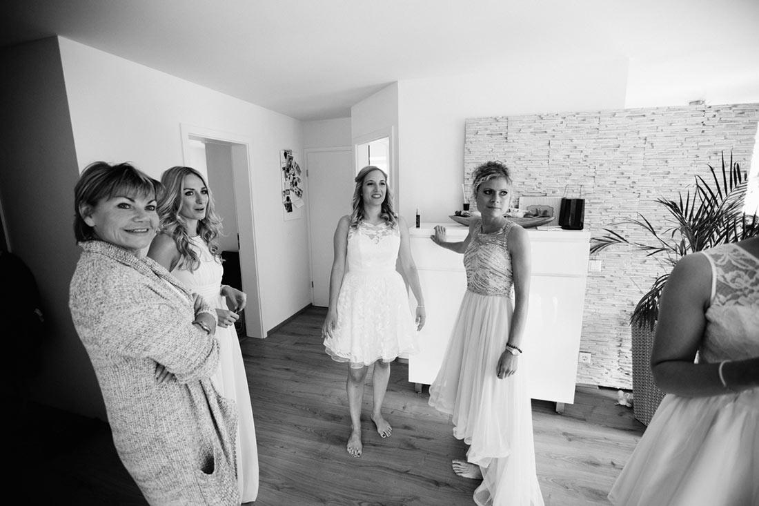 Die Mädels in der WOhnung