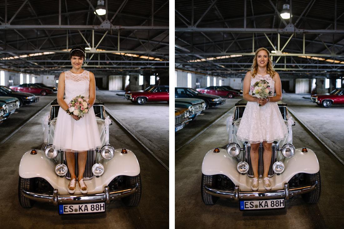 Das Paar und das Auto