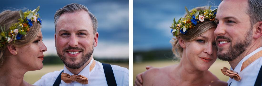 Portraits auf offenem Feld