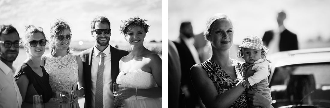 Impressionen der Hochzeitsgäste