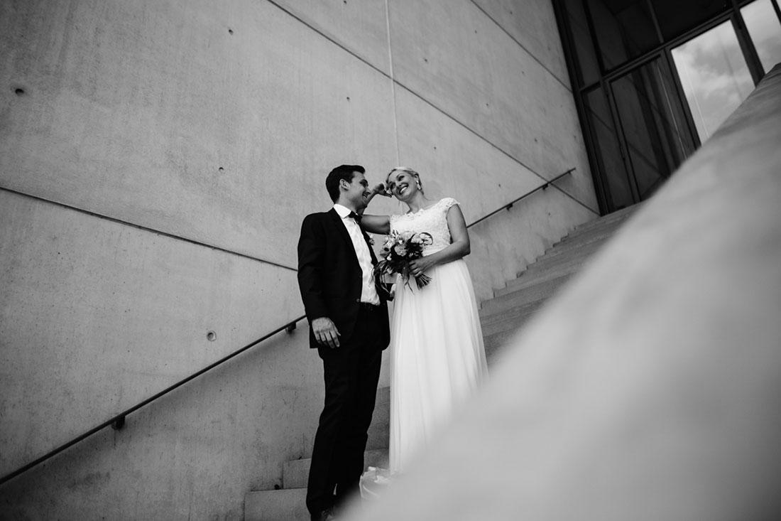 Hochzeitsbilder Pinakothek in München