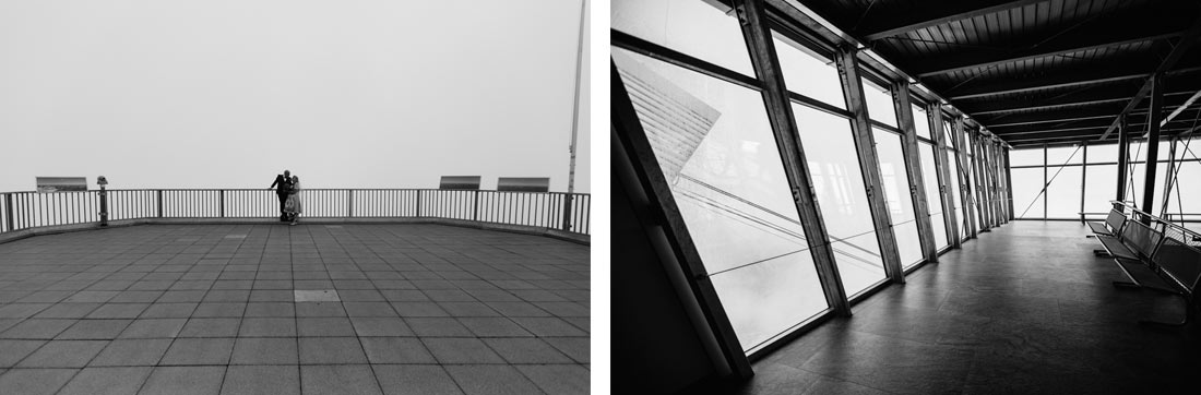 Nebel auf der Zugspitze