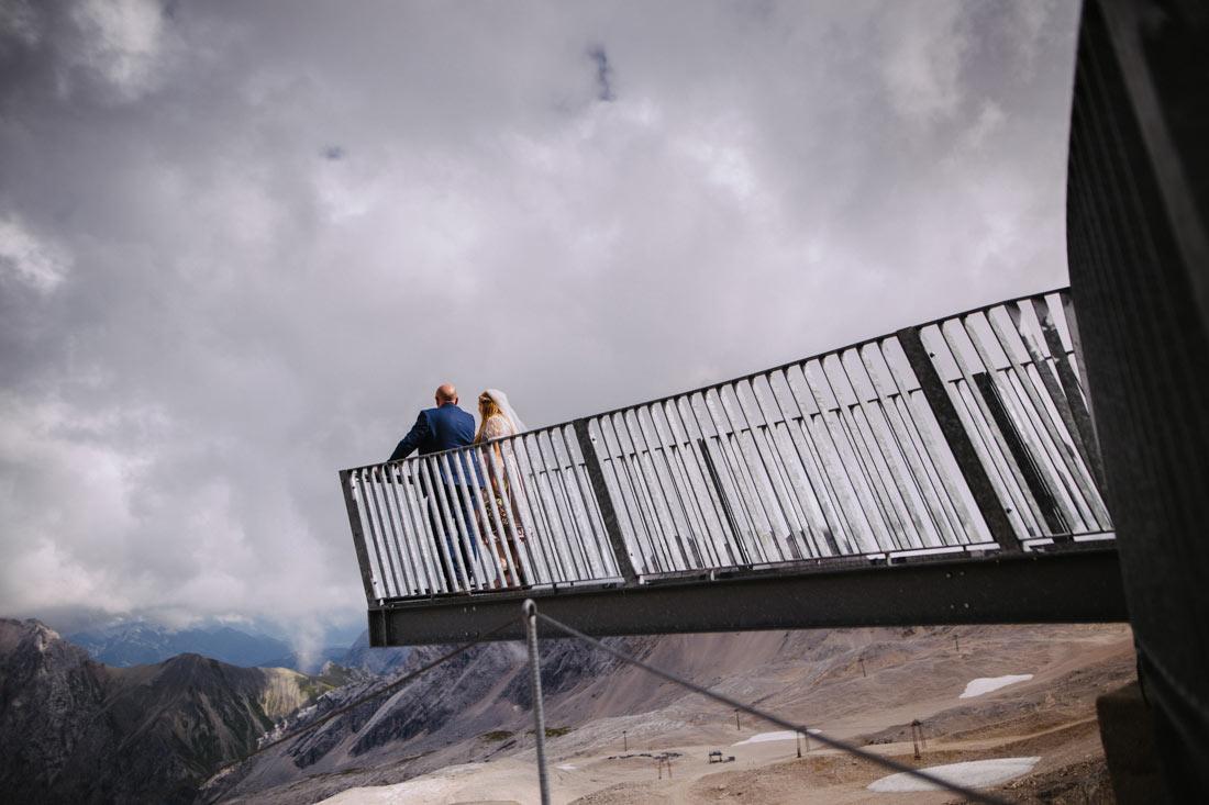 Aussichtsplattform auf der Zugspitze
