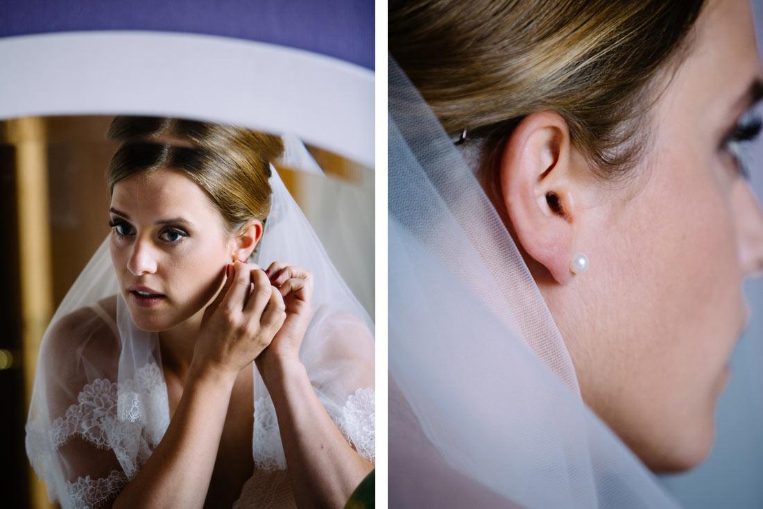 Die Braut und ihre Ohrringe