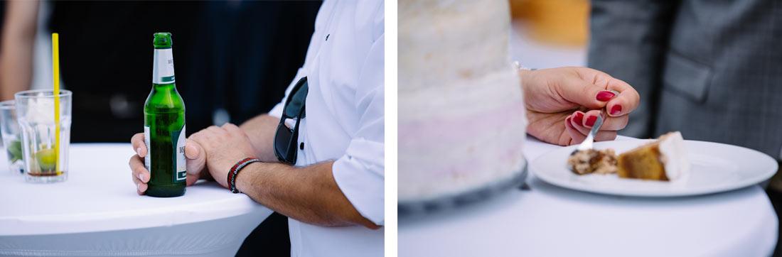 Kuchen und Bier