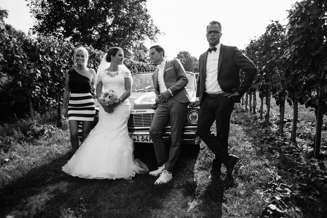 Das Hochzeitsshooting beginnt