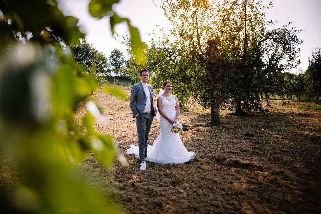 Hochzeitsbilder im Spätsommer